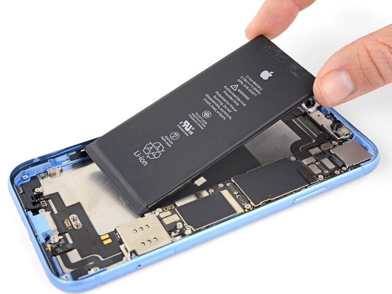 reparar-batería-iPhone-XR-alicante