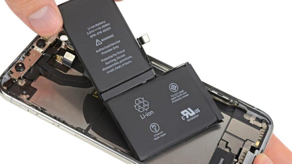 Cambiar-la-batería-de-iPhone-X