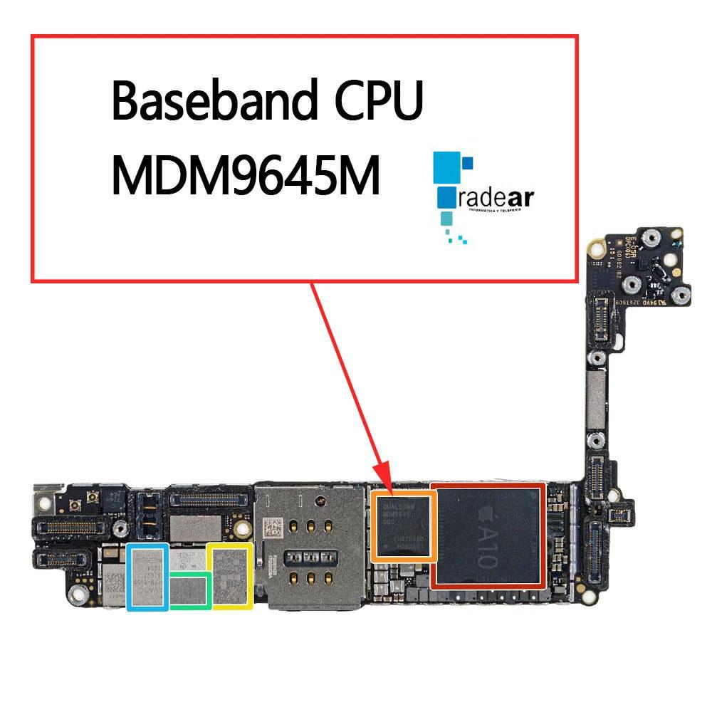 reparar-sin-servicio-iPhone-placa